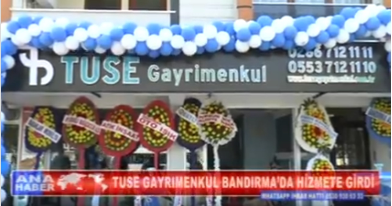 Bandırma Marmara TV Acılış